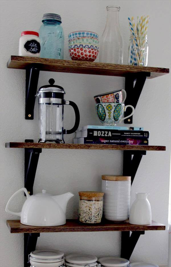 Best ideas about Kitchen Shelves DIY . Save or Pin 10 Unique DIY Shelves for Home Storage Now.