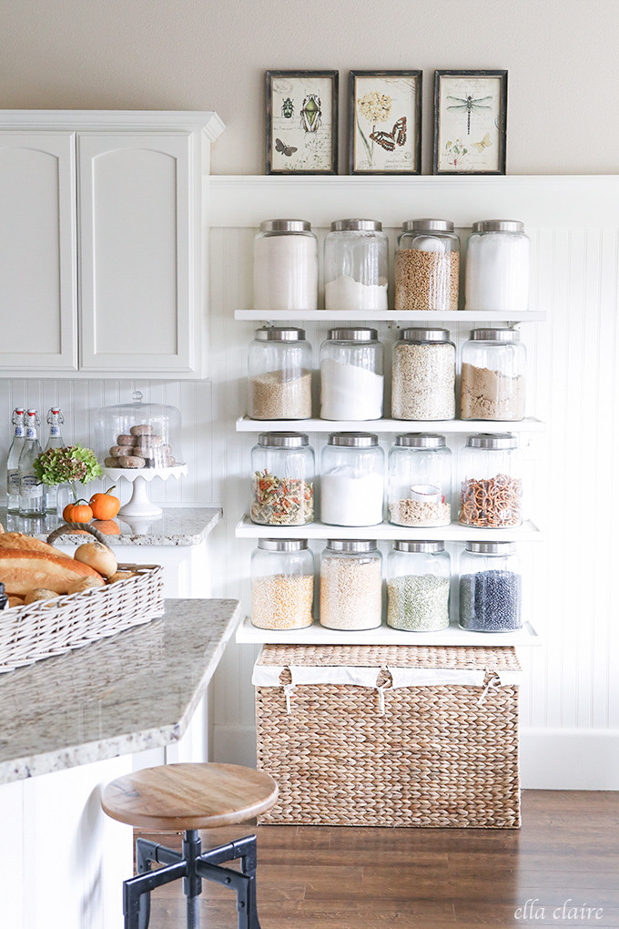 Best ideas about Kitchen Shelves DIY . Save or Pin 5 Tips for a Gorgeous and Organized Pantry Now.