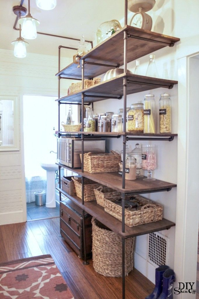 Best ideas about Kitchen Shelves DIY . Save or Pin DIY Show f DIY Home Decor Now.