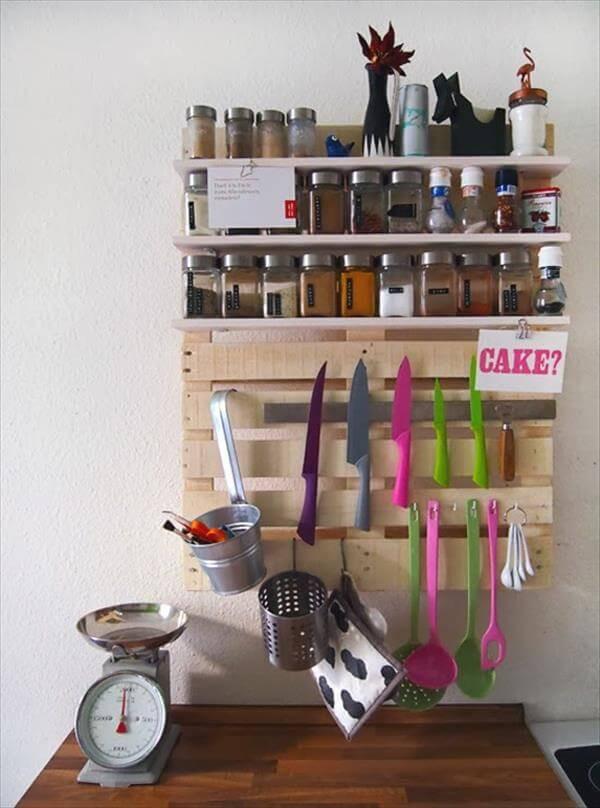 Best ideas about Kitchen Shelves DIY . Save or Pin DIY Pallet Kitchen Shelf Tutorial Now.