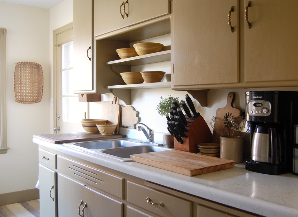 Best ideas about Kitchen Shelves DIY . Save or Pin Frog Goes to Market DIY Open Kitchen Shelves Now.