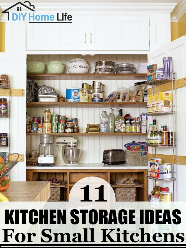 Best ideas about Kitchen Storage Ideas For Small Kitchens . Save or Pin 11 Kitchen Storage Ideas For Small Kitchens Now.