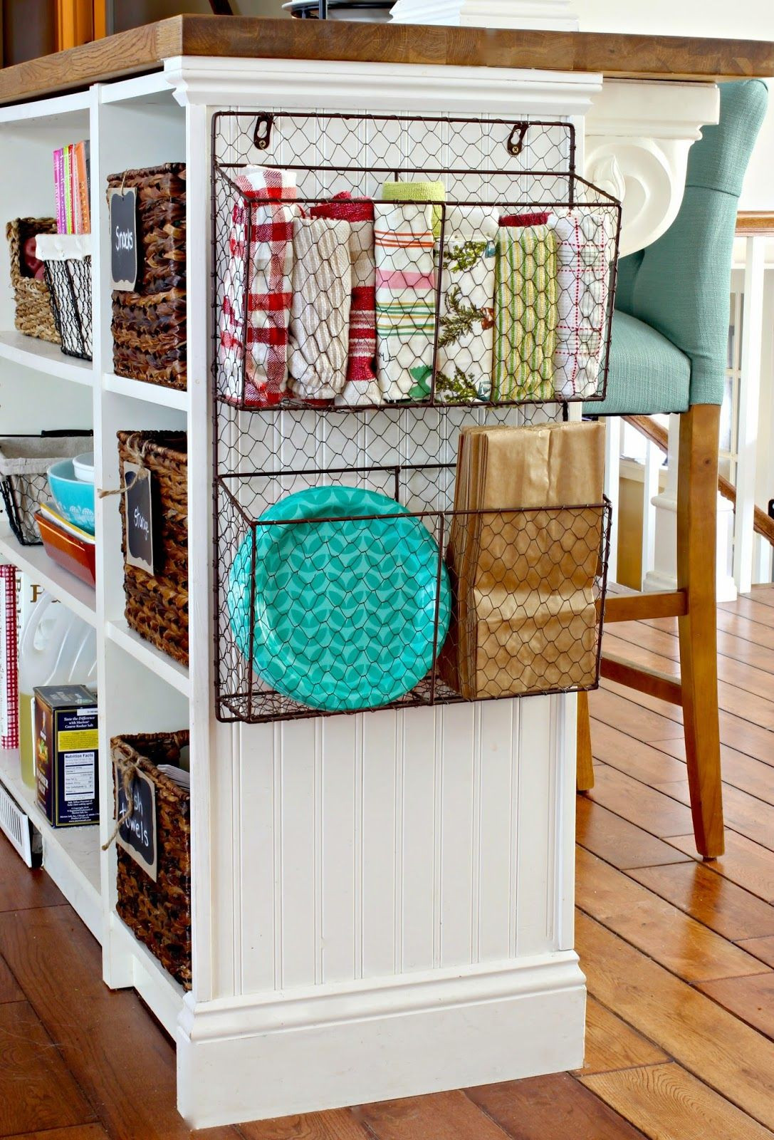 Best ideas about Kitchen Storage Ideas For Small Kitchens . Save or Pin DIY Kitchen Decor on Pinterest Now.
