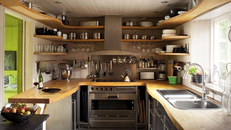 Best ideas about Kitchen Storage Ideas For Small Kitchens . Save or Pin 18 Clever Storage Ideas For Small Kitchens Now.