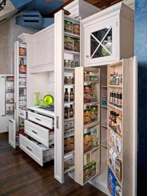 Best ideas about Kitchen Storage Ideas For Small Kitchens . Save or Pin 31 Amazing Storage Ideas For Small Kitchens Now.