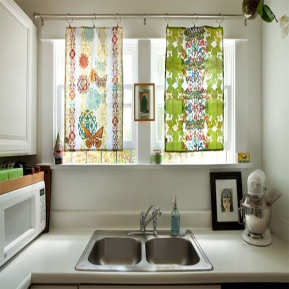 Best ideas about Kitchen Window Treatments DIY . Save or Pin Curtain treatments custom draperies and valances designer Now.