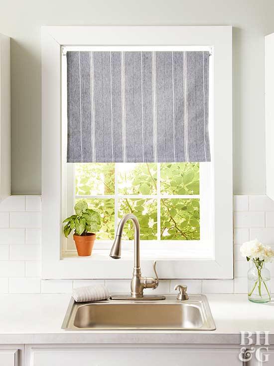 Best ideas about Kitchen Window Treatments DIY . Save or Pin 14 DIY Kitchen Window Treatments Now.