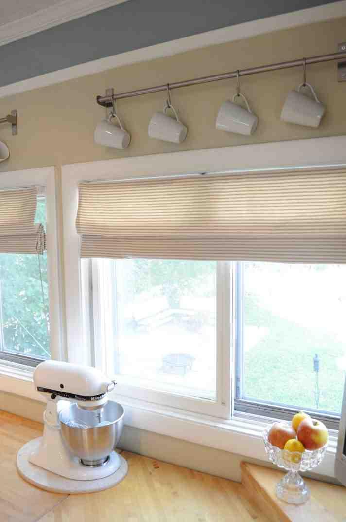 Best ideas about Kitchen Window Treatments DIY . Save or Pin Diy Kitchen Window Treatments Now.