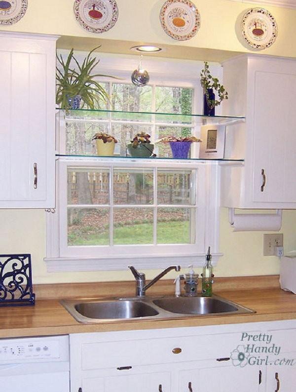 Best ideas about Kitchen Window Treatments DIY . Save or Pin Creative Kitchen Window Treatment Ideas 2017 Now.