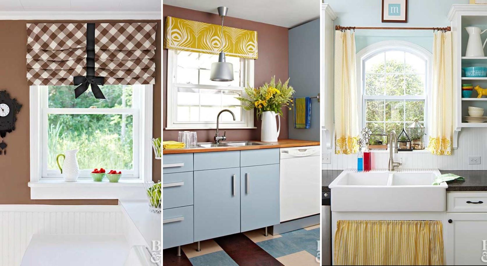Best ideas about Kitchen Window Treatments DIY . Save or Pin DIY Kitchen Window Treatments Ideas to Love Now.