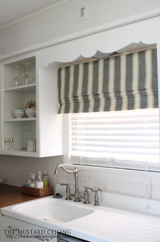 Best ideas about Kitchen Window Treatments DIY . Save or Pin Get Inspired 15 DIY Window Treatments How to Nest for Less™ Now.