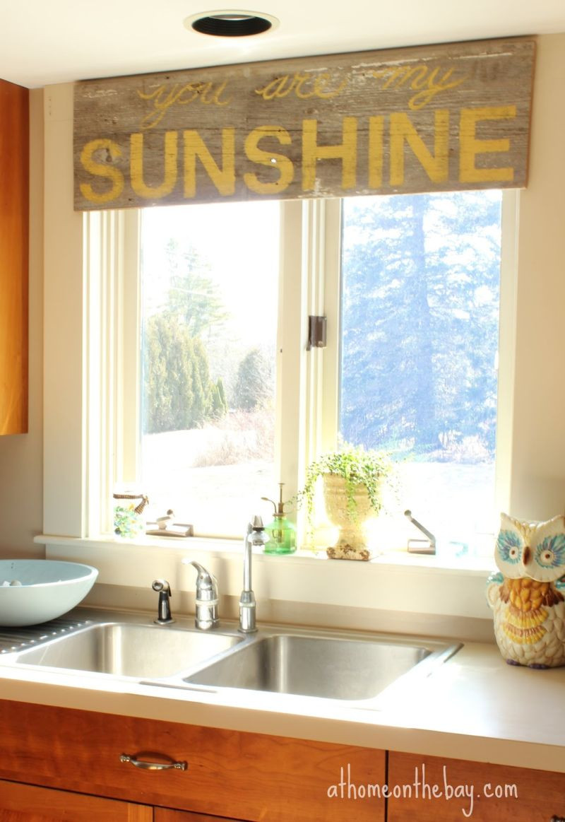 Best ideas about Kitchen Window Treatments DIY . Save or Pin These 20 Kitchen Curtains Will Lighten Brighten and Now.
