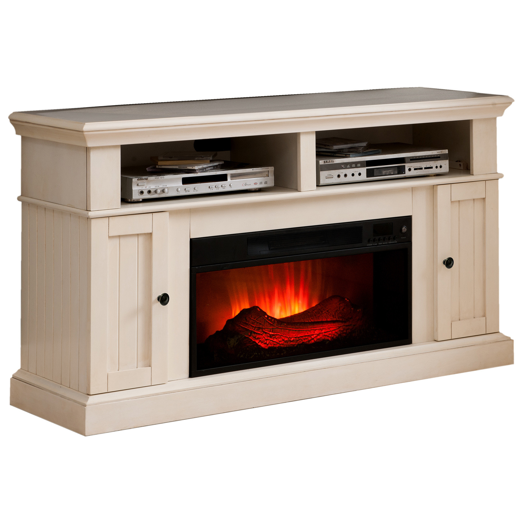 Best ideas about Kmart Fireplace Tv Stand . Save or Pin Winston Antique White Fireplace Now.