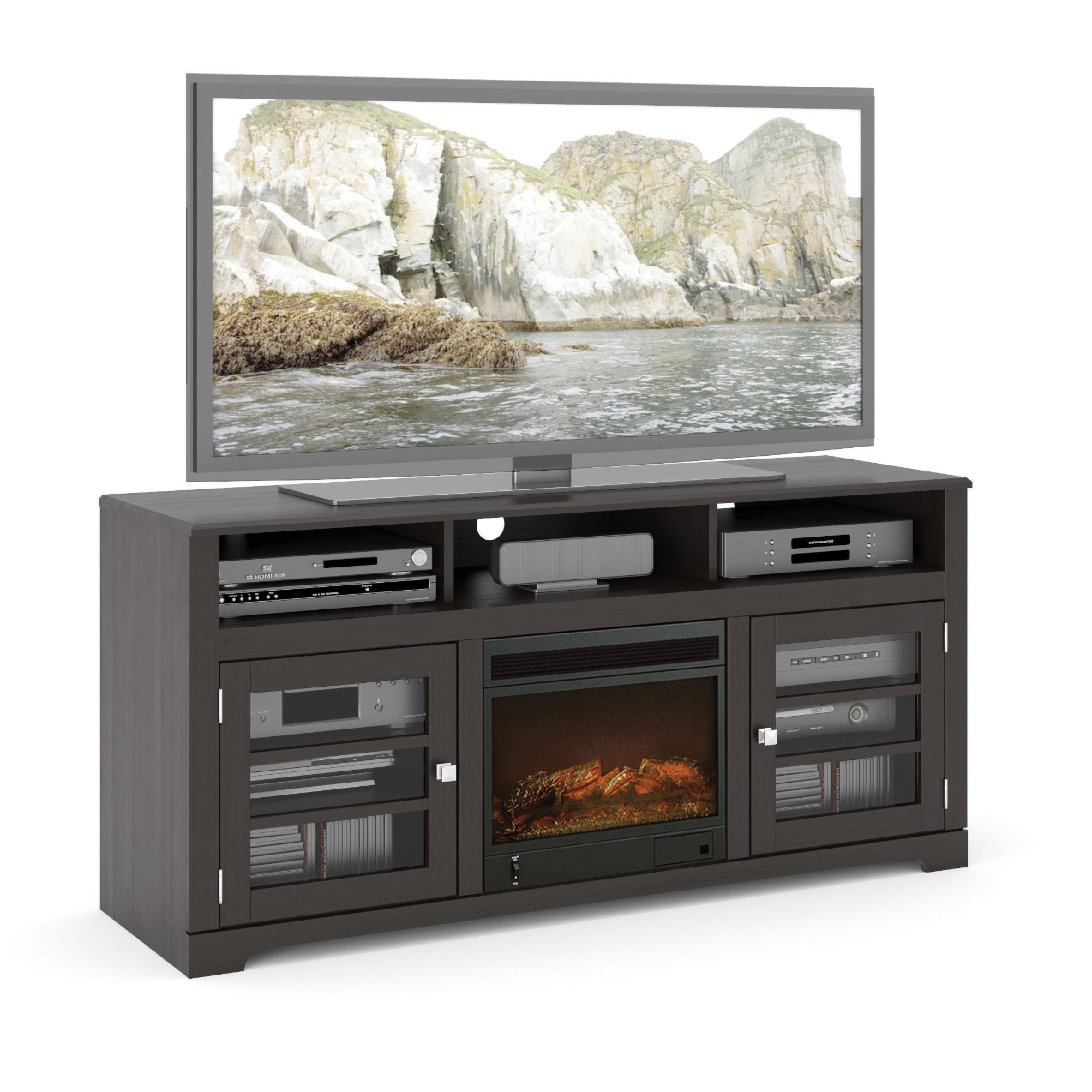 Best ideas about Kmart Fireplace Tv Stand . Save or Pin Traditional Tv Entertainment Center Now.
