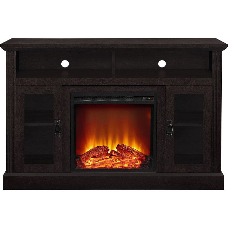 """Best ideas about Kmart Fireplace Tv Stand . Save or Pin Darby Home Co Rosier 47"""" TV Stand with Electric Fireplace Now."""