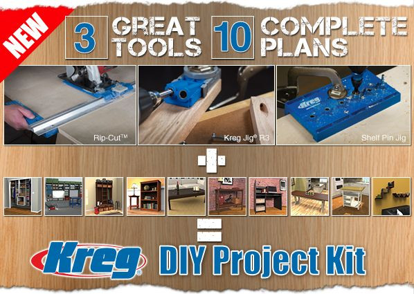 Best ideas about Kreg DIY Project Kit . Save or Pin Introducing the all new DIY Project Kit – 3 must have Now.