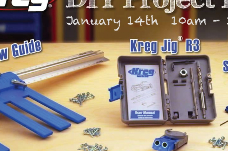 Best ideas about Kreg DIY Project Kit . Save or Pin Free Seminar Kreg DIY Project Kit For Home Organization Now.