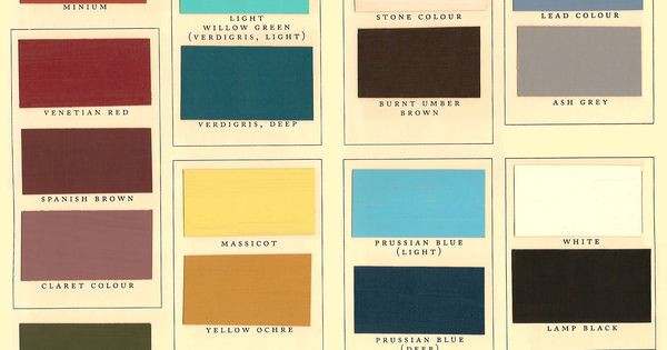 Best ideas about Kwall Paint Colors . Save or Pin Kwal Paint Color Chart Historic Paints LTD Now.