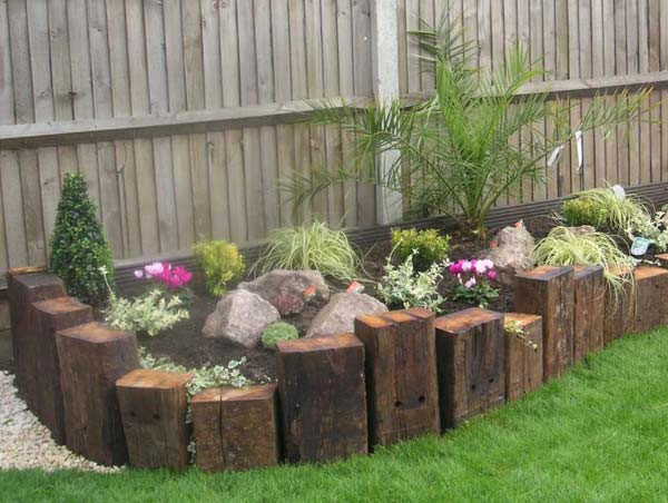 Best ideas about Landscape Border Ideas . Save or Pin Top 28 Surprisingly Awesome Garden Bed Edging Ideas Now.