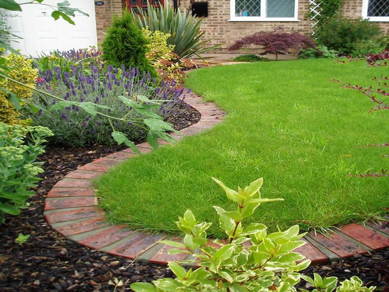 Best ideas about Landscape Border Ideas . Save or Pin Lawn Edging Garden Edging Ideas Now.