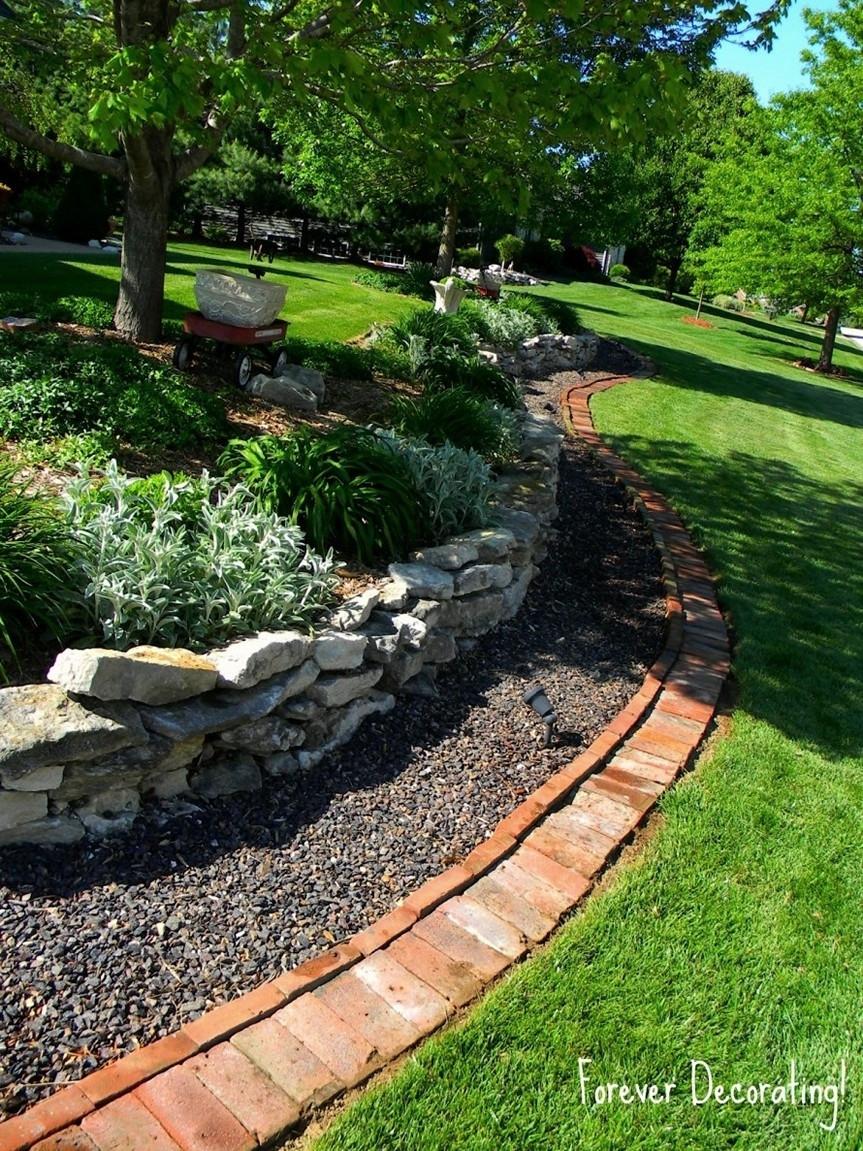 Best ideas about Landscape Border Ideas . Save or Pin Great Idea Aluminum Landscape Edging — Bistrodre Porch Now.