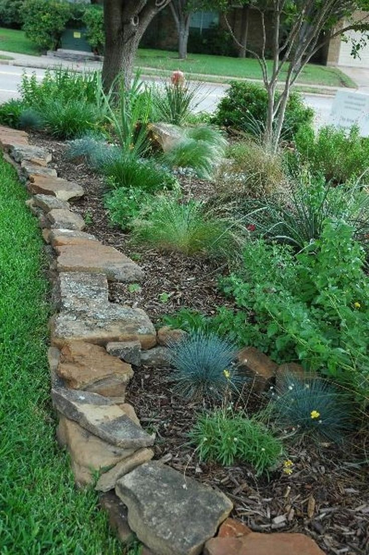 Best ideas about Landscape Border Ideas . Save or Pin Best 25 Flower bed edging ideas on Pinterest Now.