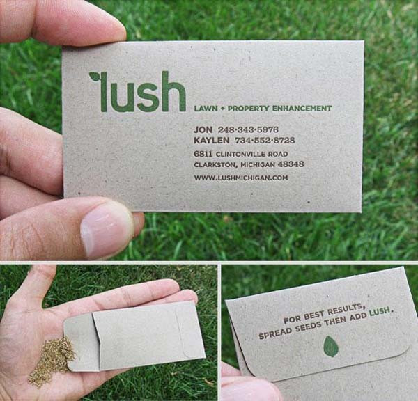 Best ideas about Landscape Business Cards . Save or Pin 29 Cool Business Cards That Are Unfor table Awesome Now.