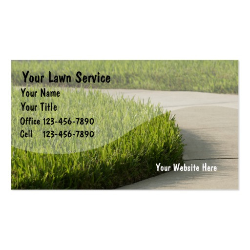 Best ideas about Landscape Business Cards . Save or Pin Lawn Business Cards Now.