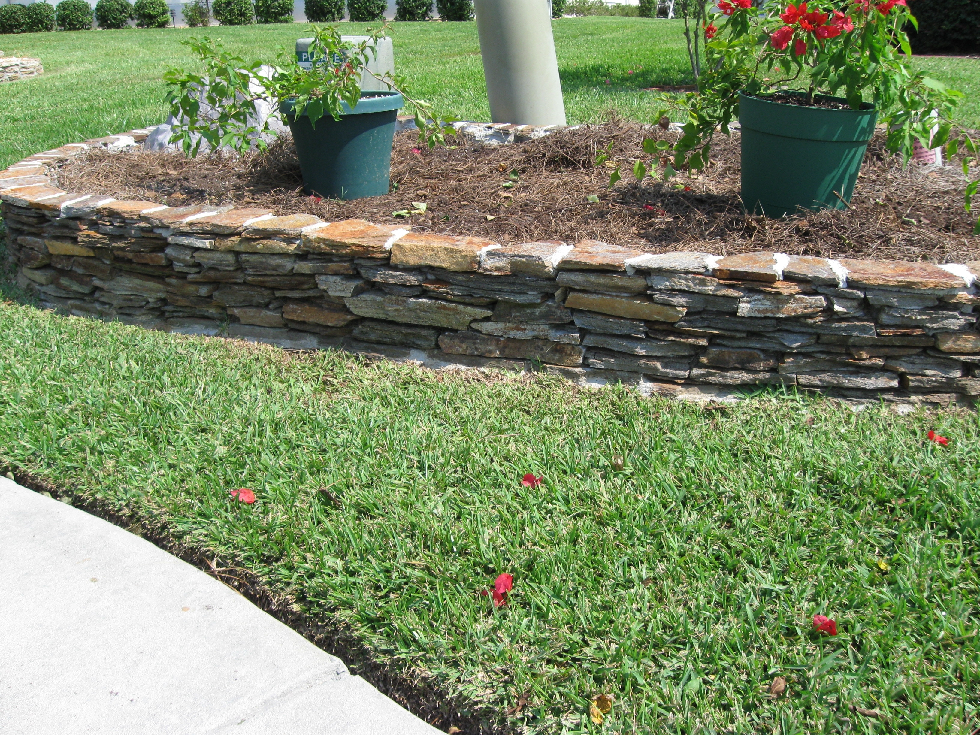 Best ideas about Landscape Edging Stones . Save or Pin Design Landscape Edging Borders — Bistrodre Porch and Now.