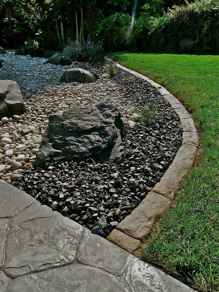 Best ideas about Landscape Edging Stones . Save or Pin How To Make Lava Stone Driveway Rockmolds Now.