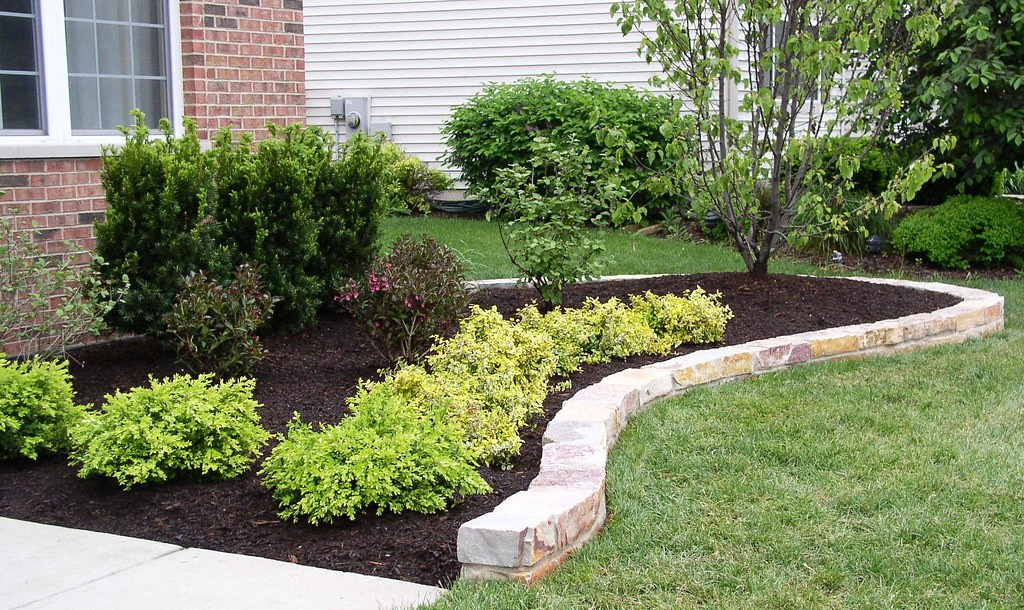 Best ideas about Landscape Edging Stones . Save or Pin Curved Natural Stone Edging Now.