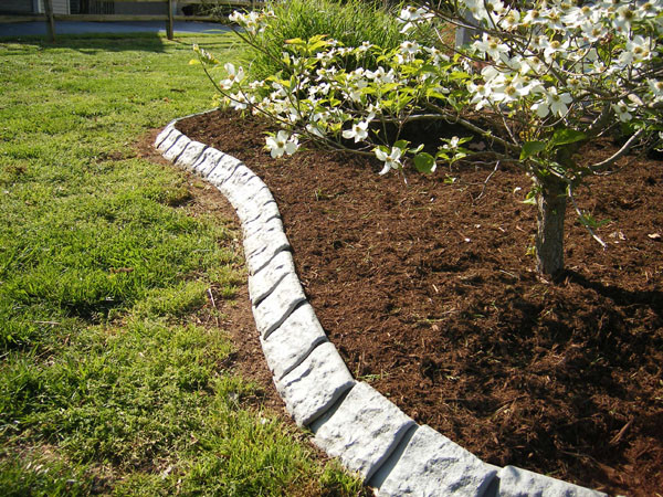 "Best ideas about Landscape Edging Stones . Save or Pin Decorative ""Stone"" Garden Edging 60 Decorative ""Stone""Edging Now."