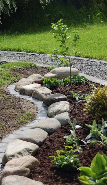 Best ideas about Landscape Edging Stones . Save or Pin 37 Garden Border Ideas To Dress Up Your Landscape Edging Now.