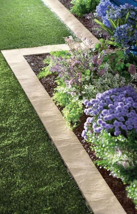 Best ideas about Landscape Edging Stones . Save or Pin 66 Creative Garden Edging Ideas to Set Your Garden Apart Now.