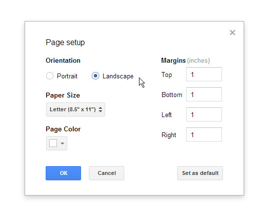 Best ideas about Landscape In Google Docs . Save or Pin orientation Create a Google Doc in landscape mode Now.