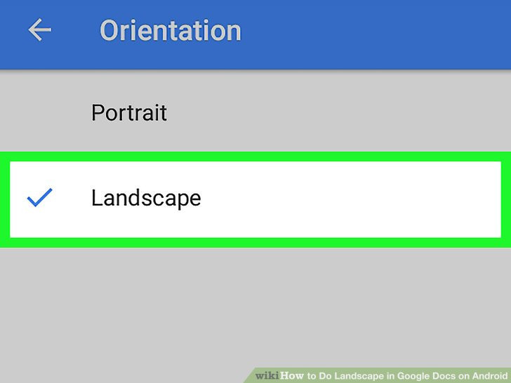 Best ideas about Landscape In Google Docs . Save or Pin Easy Ways to Do Landscape in Google Docs on Android 9 Steps Now.
