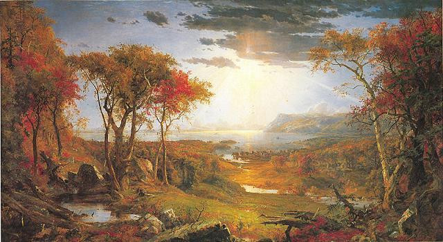 Best ideas about Landscape Paintings By Famous Artists . Save or Pin Hudson River School Artists and Famous Landscape Paintings Now.