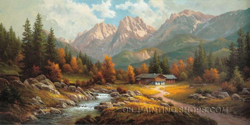 Best ideas about Landscape Paintings By Famous Artists . Save or Pin Pin by Bo Yi Gallery on Traditional Classical Oil Now.