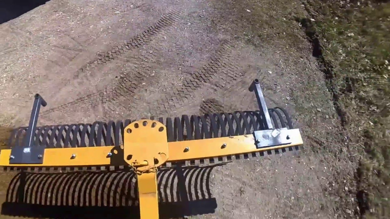 Best ideas about Landscape Rake Tractor Supply . Save or Pin POV Video of Tractor Supply 6 Landscape Rake in Driveway Now.