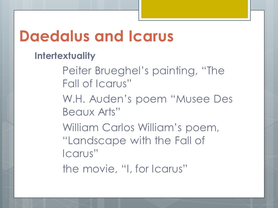 Best ideas about Landscape With The Fall Of Icarus Poem . Save or Pin Critical Content and Literature Victor Rey Fumar ppt Now.