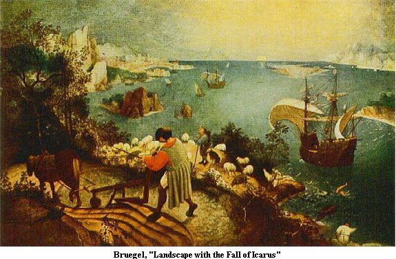 Best ideas about Landscape With The Fall Of Icarus Poem . Save or Pin joaquinsliteratureblog Now.
