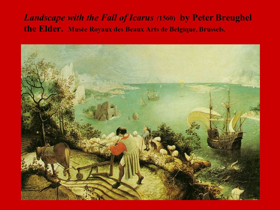 Best ideas about Landscape With The Fall Of Icarus Poem . Save or Pin Tragedy From Aristotle's Poetics and Sophocles' Oedipus Now.