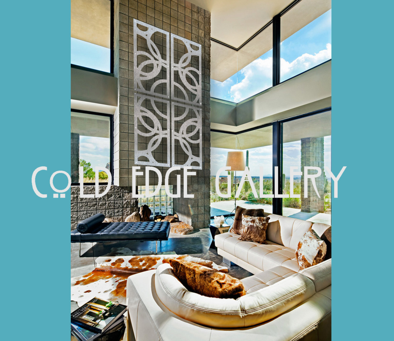 Best ideas about Large Metal Wall Art . Save or Pin Extra Metal Wall Art Home Decor Abstract by Now.