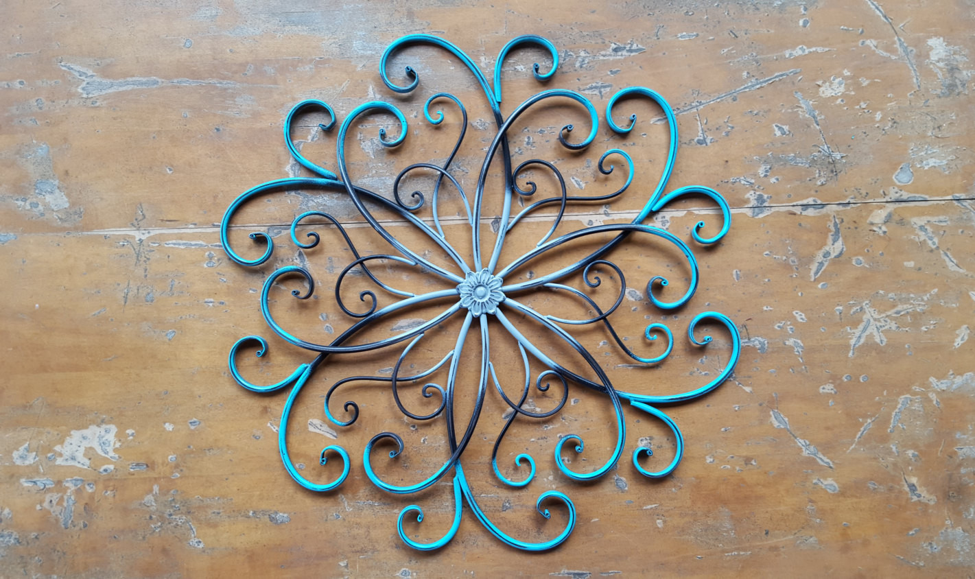 Best ideas about Large Metal Wall Art . Save or Pin Metal Wall Art Wrought Iron Wall Decor Now.