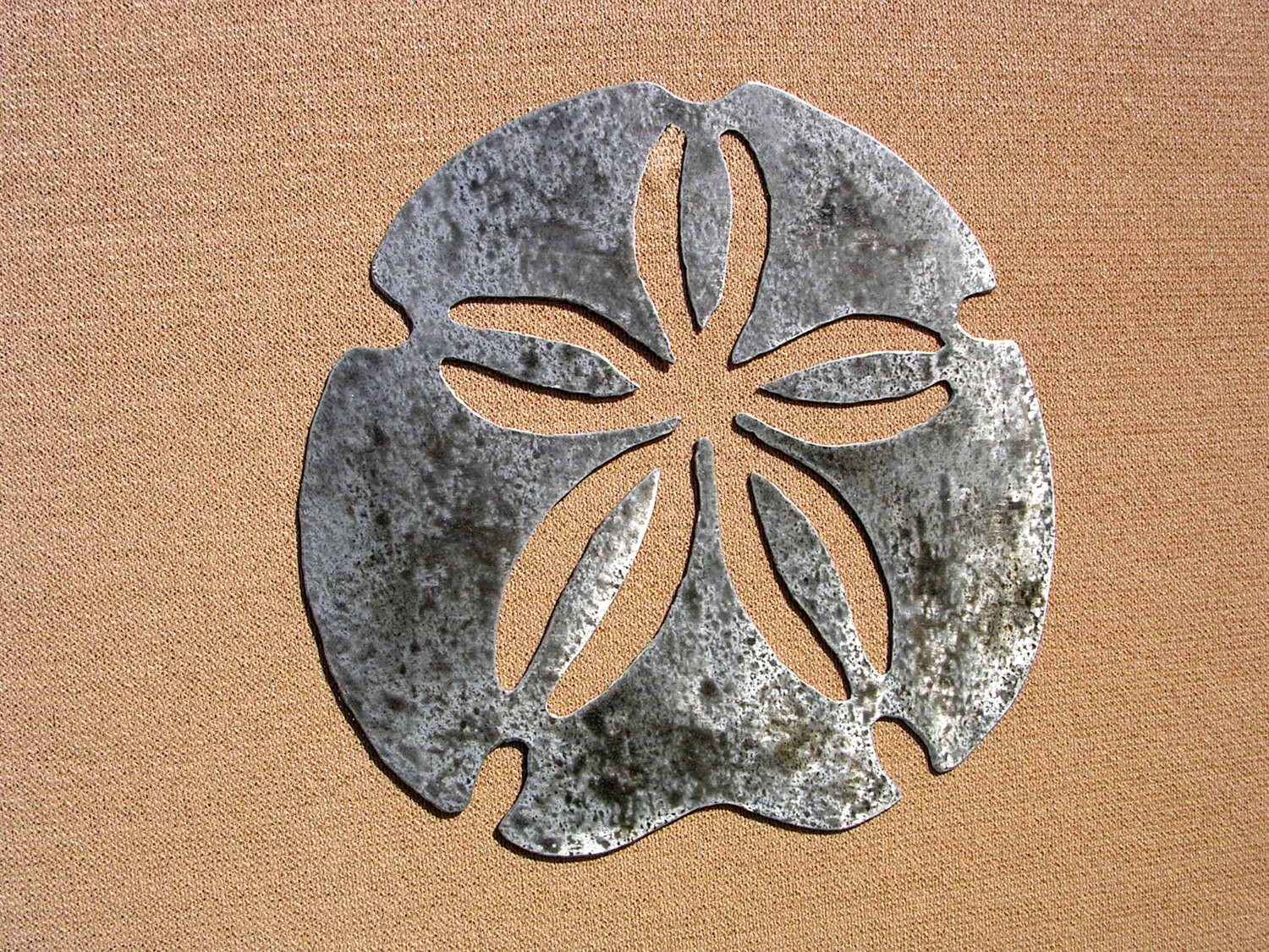 Best ideas about Large Outdoor Metal Wall Art . Save or Pin Sand Dollar Art Outdoor Metal Wall Art by Now.