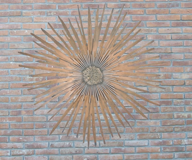 Best ideas about Large Outdoor Metal Wall Art . Save or Pin 37 Ideas of Outdoor Wall Art Now.