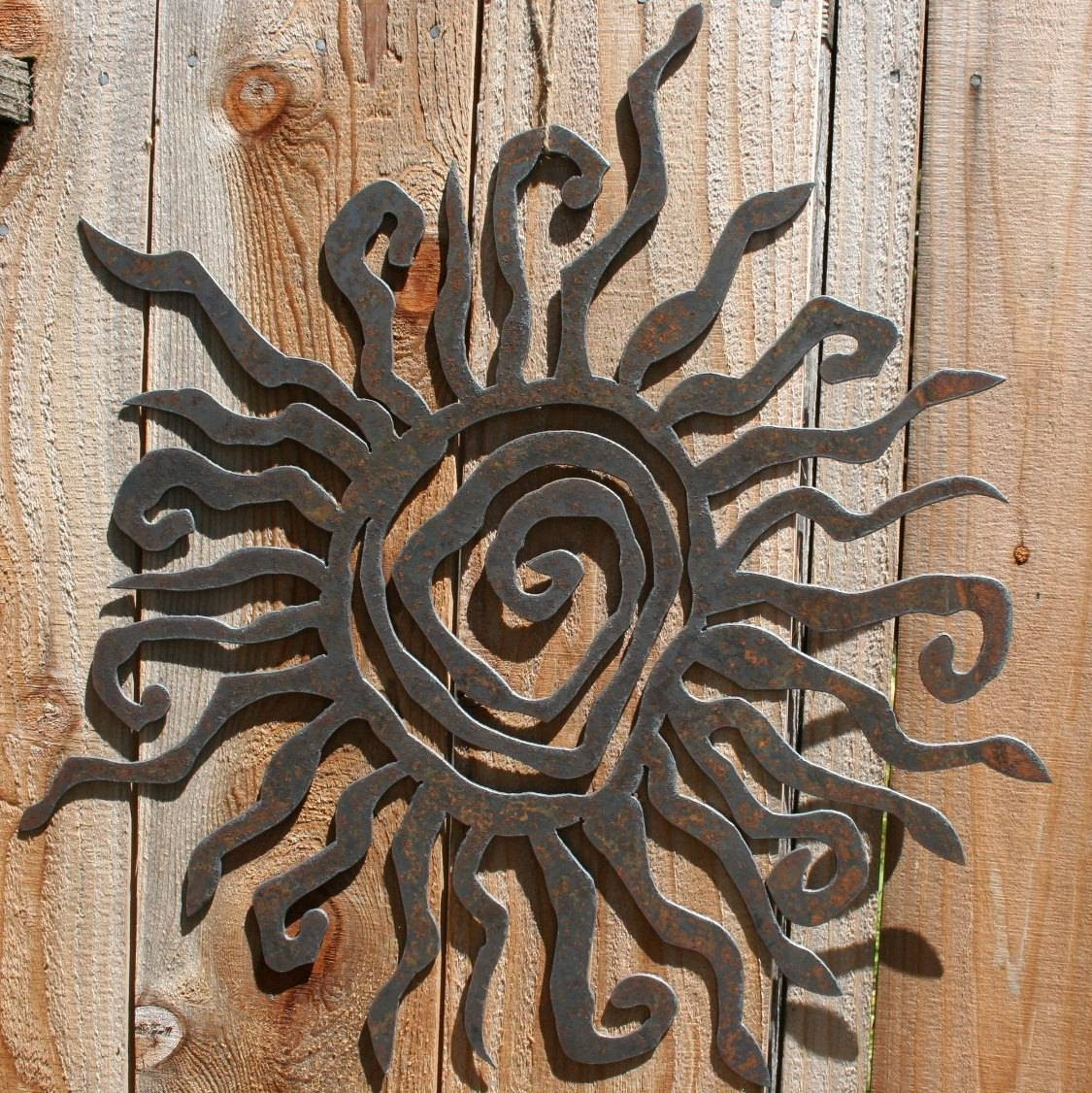 Best ideas about Large Outdoor Metal Wall Art . Save or Pin 25 Inspirations of Metal Outdoor Wall Art Now.