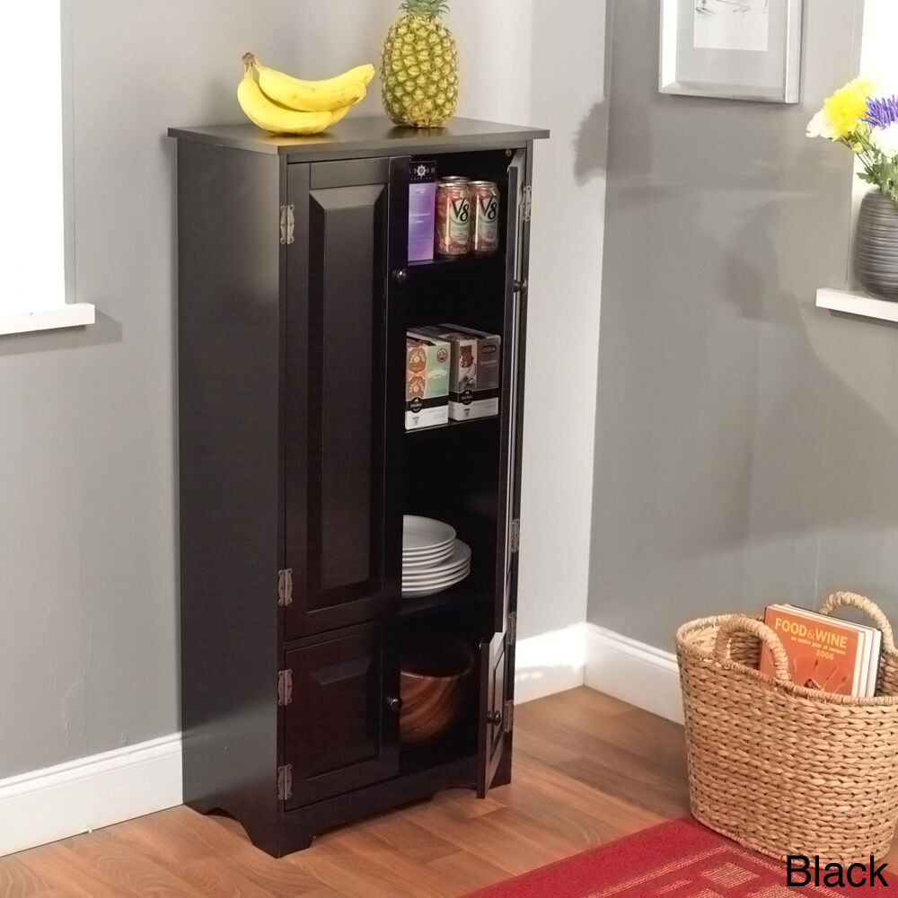 Best ideas about Large Pantry Cabinet . Save or Pin NEW Tall Cabinet Storage Kitchen Pantry Organizer Now.