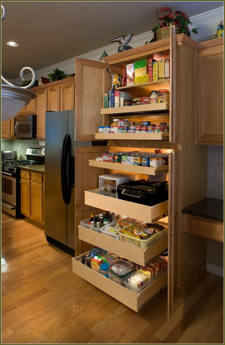 Best ideas about Large Pantry Cabinet . Save or Pin Kitchen Pantry Cabinet Installation Guide TheyDesign Now.