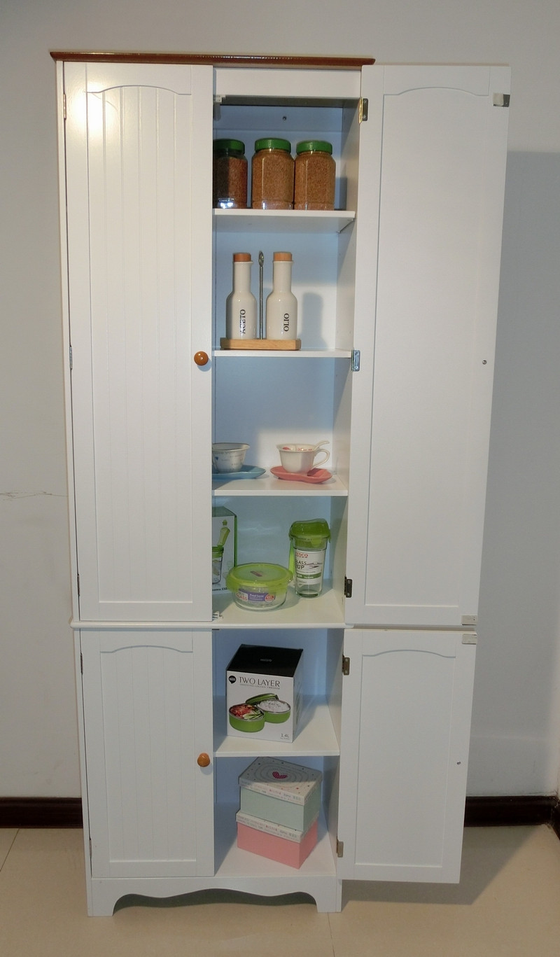 Best ideas about Large Pantry Cabinet . Save or Pin Kitchen Pantry Linen Storage Cabinet Cupboard Bathroom Now.